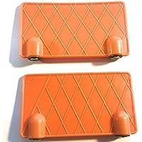 Stihl Schärfgitter 2 Stück Schärfhilfe Feilhilfe 25° 30° mit Haftmagnet Original Orange