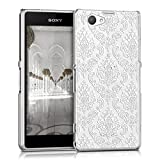 kwmobile Sony Xperia Z1 Compact Hülle - Handyhülle für Sony Xperia Z1 Compact - Handy Case in Weiß Transparent