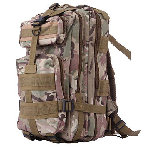 Outdoor Camouflage Rucksack Army Packs Bergsteigen Tasche Freizeit Rucksack,R H