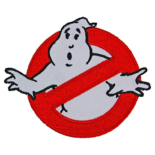 Pop Art Products Ghostbusters patch Logo badge Halloween Costume Idea 80s fancy ()