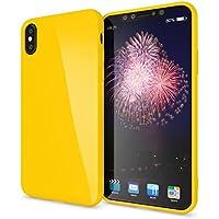 custodia apple iphone x giallo