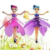 funihut 2er Pack Fliegendes Spielzeug, RC Fliegender Spielzeug, Fliegende Fee, Spielzeug, Puppe,...