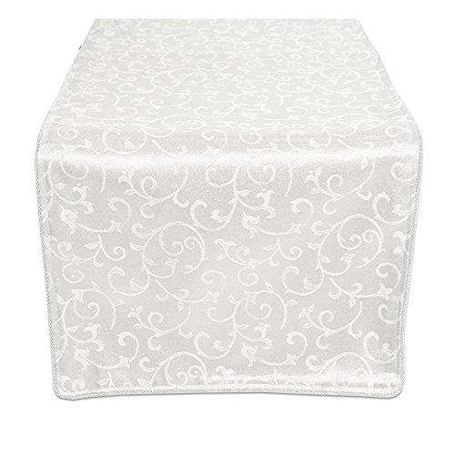 Lenox China White Linen (Lenox Tischläufer, weiß, 90 Inch)