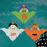 MMLsure Halloween hängen Dekoration ,Indoor/Outdoor Party Anhänger Dekoration Spielzeug Kinder Geschenk (Grünes)