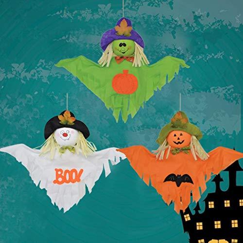 MMLsure® Halloween hängen Dekoration ,Indoor/Outdoor Party Anhänger Dekoration Spielzeug Kinder Geschenk (Grünes)