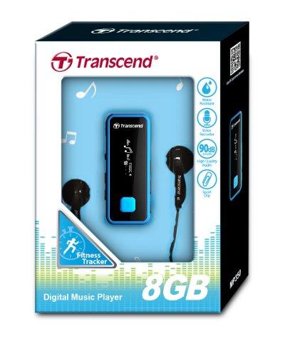 "Transcend TS8GMP350B Outdoor - Reproductor de MP3 (8 GB, pantalla de 1,0"", Radio) negro"