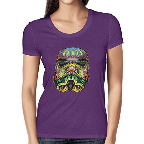 TEXLAB - Art Trooper - Damen T-Shirt Violett