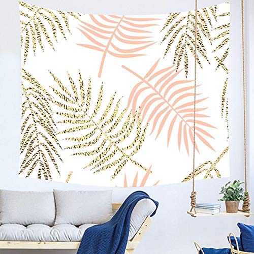 Djkaa marble print tapestry pink and golden nordic wall hanging tenture mural modern dorm room decoration geometric kapet blanket