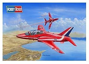 Hobbyboss 81738Kit de plástico Modelo RAF Rojo Flechas Hawk T MK1/1A, 1: 48Escala