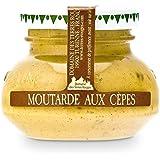 Moutarde Artisanale aux Cèpes (verrine 55g) : très parfumée. Sélection Maison Grolière