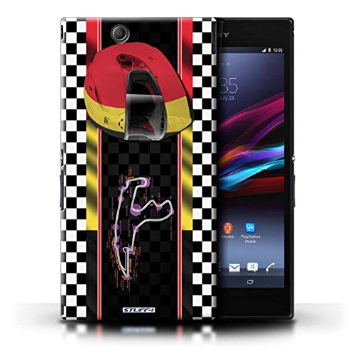 Kobalt® Imprimé Etui / Coque pour Sony Xperia Z Ultra / Monaco/MonteCarlo conception / Série F1 Piste Drapeau Belgique/Spa