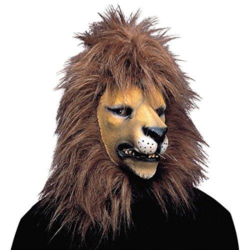 Löwen Maske Tiermaske Löwe Löwenmaske Faschingsmasken Großkatzen Maske Raubtier Raubtiermasken Fasnacht (Masken Raubtiere)