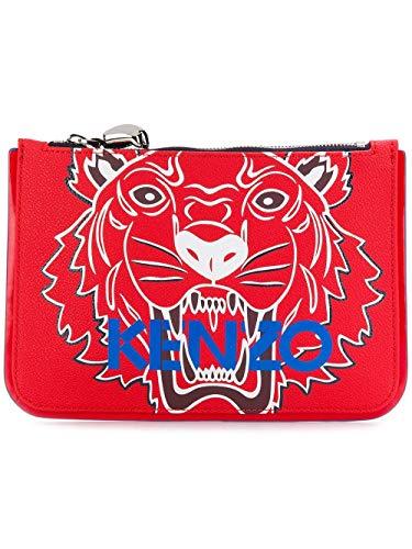 Kenzo Pochette Donna F862pm611f0221 Pvc Rosso