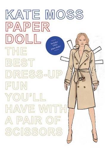 Kate Moss Paper Doll por Mel Elliott