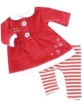 NEU   Weihnachten Mädchen Set Kleid mit Leggings Merry Christmas   62 68 74 80