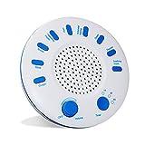 White Noise Sound Machine Con 9 Sonidos Naturales Para Un Mejor Sueño, Sin Bucles Relajante Y Relajante Música Para Bebés, Adultos, Mascotas, Hogar O Viajes.USB O Con Pilas, Temporizador De Apagado Automático