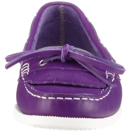 Gant Serena green leather 46.45008A036, Mocassins femme Violet-V.19