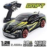 RCZYBZ RC Voiture 1/26 Échelle 4x4 RTR Télécommande Racing Drift Car 360 ° Rotation Stunt Haute Vitesse Dérive Véhicule 2.4GHz, Cadeau