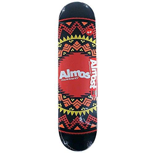 presque-skateboards-geo-azteque-planche-noir-203-cm
