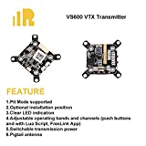 PinBoTronix FrSky VS600 5.8G VTX FPV Transmitter with the Optional Mounting Hole Spacing for RC Racing Drone Quadcopter