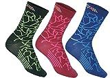 COMPRESSION FOR ATHLETES 3er Packung – CAMO Editions - Hochwertiger Quarter Socken von CFA Perfekt für alle Sportarten, Für Männer und Frauen. In der EU hergestellt. (Grün Camo 3-Paare, 39-42)