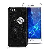 Noir Coque iphone 7, Apple iphone 8 Etui Housse Silicone Espace Motif Design...