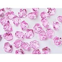 Takestop® Piedra Piedras guijarros Guijarros Cristales Rosa 200g Decoración Ornamento adornos Acuario Jarrón Wedding estanque jardín