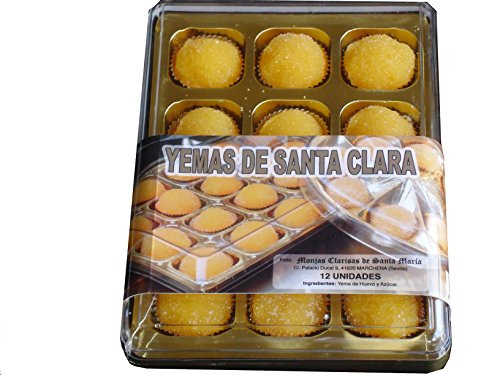 YEMAS DE SANTA CLARA. 12 un. CONVENTO DE LAS MONJAS CLARISAS DE...