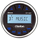 Clarion gr10bt Digital Media Receiver USB/MP3/WMA Bluetooth 7,6 cm, IPX5 Gesicht, am/fm/NOAA, 50 W x 4 AUX INP