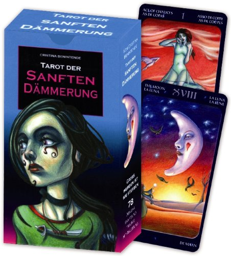 Tarot der sanften Dämmerung. Kartenset mit 78 Tarotkarten (Dämmerung Symbole Der)