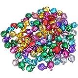 Cascabeles 100 unds multicolor manualidades, cintas, collar mascotas, complementos, llaveros, bolsos... de OPEN BUY