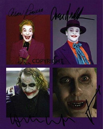 Fotodruck mit allen Schauspielern von Batman, mit vorgedrucktem Autogramm, limitierte Edition (Foto-und Autogramm-buch)