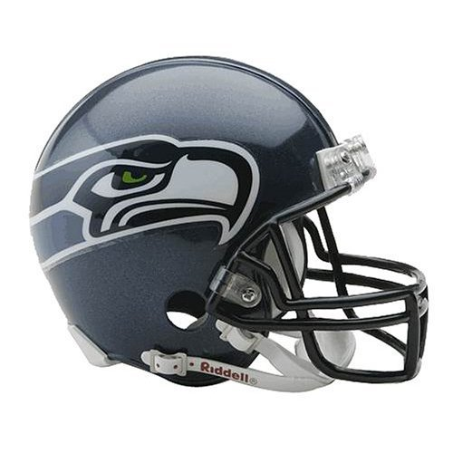 NFL Seattle Seahawks Replica Mini Football Helm Test