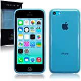 Apple iPhone 5C TPU Gel Skin Case / Cover (Blue)