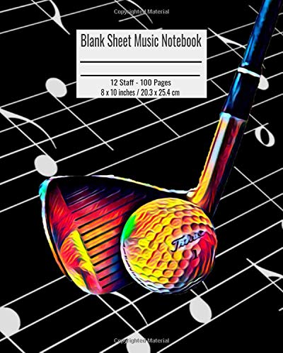 Zoom IMG-2 blank sheet music notebook 100