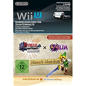 Hyrule Warriors AOC Majora's Mask Pack DLC [Wii U Download Code]
