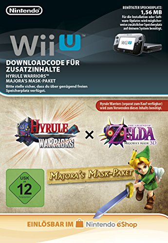 Hyrule Warriors AOC Majora's Mask Pack DLC [Wii U Download Code] (Hyrule Warriors Legends Kostüme)
