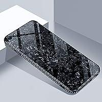 Shinyzone Huawei P Smart Glas Hülle,Huawei Enjoy 7S Bling Hülle-[9H Gehärtetes Glas Zurück Hülle] mit Weich TPU... preisvergleich bei billige-tabletten.eu