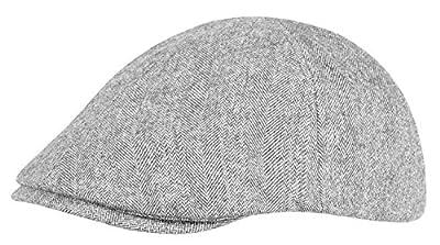 Schiebermütze Gatsby Flat Cap aus hochwertiger Wollmischung