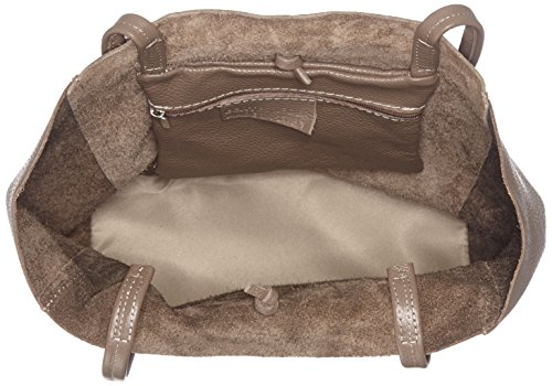 Bags4Less - Maria, Borse a spalla Donna Marrone (Taupe)