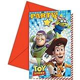 Amscan - Invitaciones para fiestas Toy Story (Amscan International 81542)