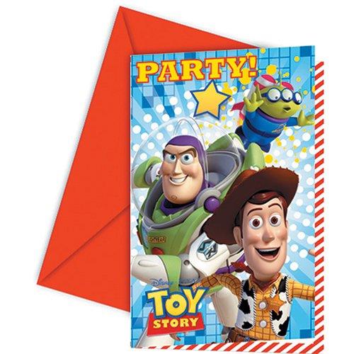 Unique Party Amscan T 'story étoile POW invitations et enveloppes accessoire de fête