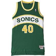 adidas Intl Retired Jersey - Camiseta para hombre, color verde / amarillo / blanco,
