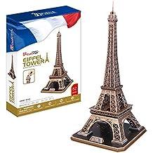 """CubicFun - Puzzle 3D """"La Torre Eiffel - París"""""""