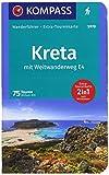 KOMPASS Wanderführer Kreta mit Weitwanderweg E4: Wanderführer mit Extra-Tourenkarte 1:50000 - 1:75000, 75 Touren, GPX-Daten zum Download. - Michael Will