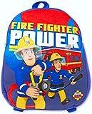 for-collectors-only Feuerwehrmann Sam Rucksack Fire Fighter Power Backpack Kinder Plüschrucksack Plüsch Kindergarten Tasche Umhängetasche Kinderrucksack