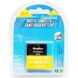 MaximalPower batterie de rechange pour appareil photo samsung bP70A/eS65, eS70/sL600 sL50///pL110 pL80