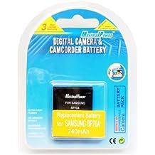 MaximalPower - Batería Samsung BP70A (compatible con cámaras Samsung ES65, ES70, SL600,