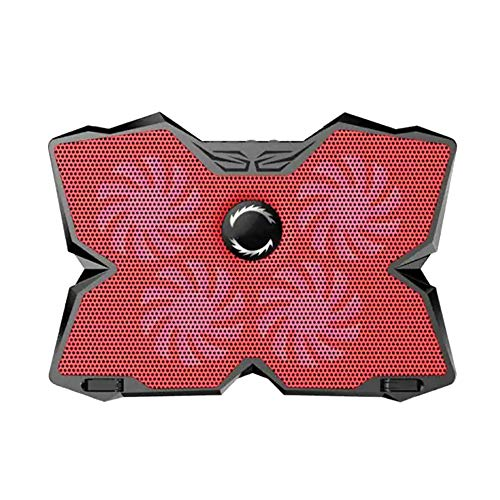 SHENGY Ultra-silencioso Gaming portátil Enfriador de enfriamiento Pad Stand, para 15.6-17