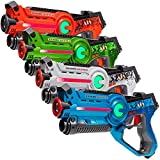 Light Battle Active Laser Tag Game Set for Kids. Laser Tag gun: green, orange, blue and white | LBAP1041234DP1